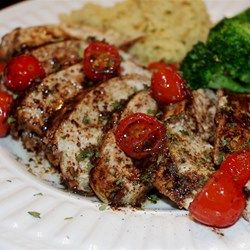 Roasted Balsamic Chicken with Baby Tomatoes - Allrecipes.com