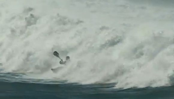 Big Wave Freestyle Surfing
