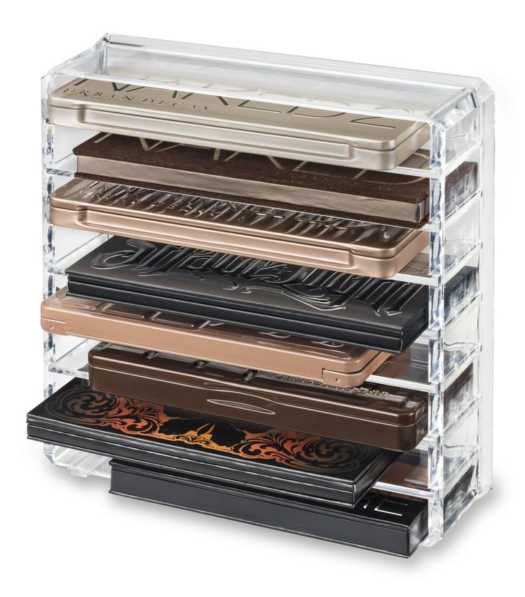 Acrylic Makeup Organizers - byAlegory Beauty Organization