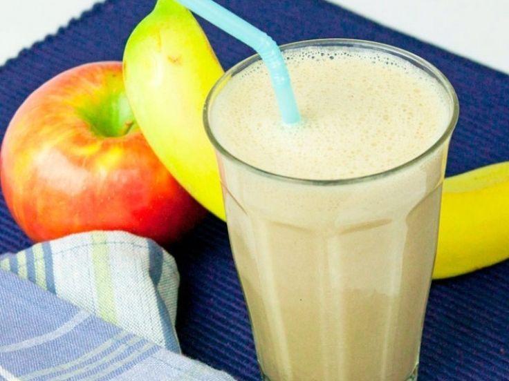 Almás banános smoothie recept. Válogass a többi fantasztikus recept közül az Okoskonyha online szakácskönyvében!