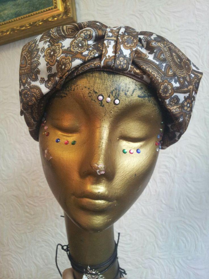 AMAZING paisley print turban £15