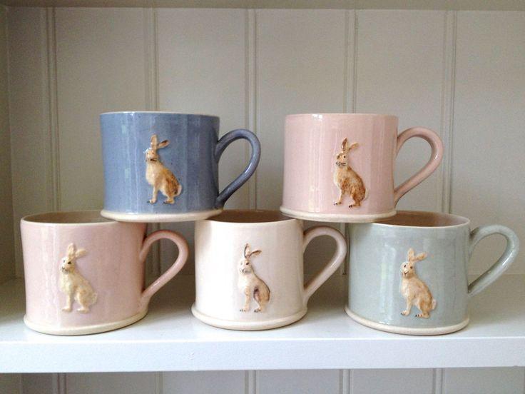 Hare Mug by Jane Hogben