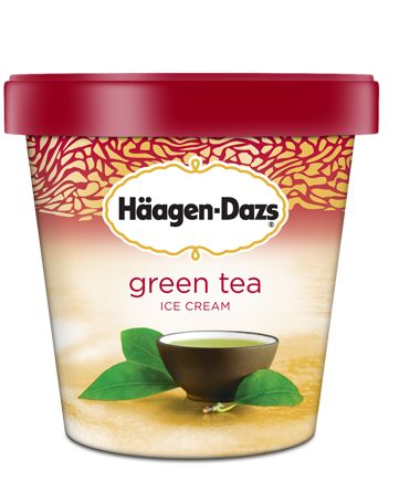 Häagen-Dazs Green Tea | we make our green tea ice cream from a highly sought-after Japanese matcha green tea, a ceremonial tea prized for its intense yet delicate essence. enjoy its soothing flavor enhanced with the richness of pure, sweet cream.