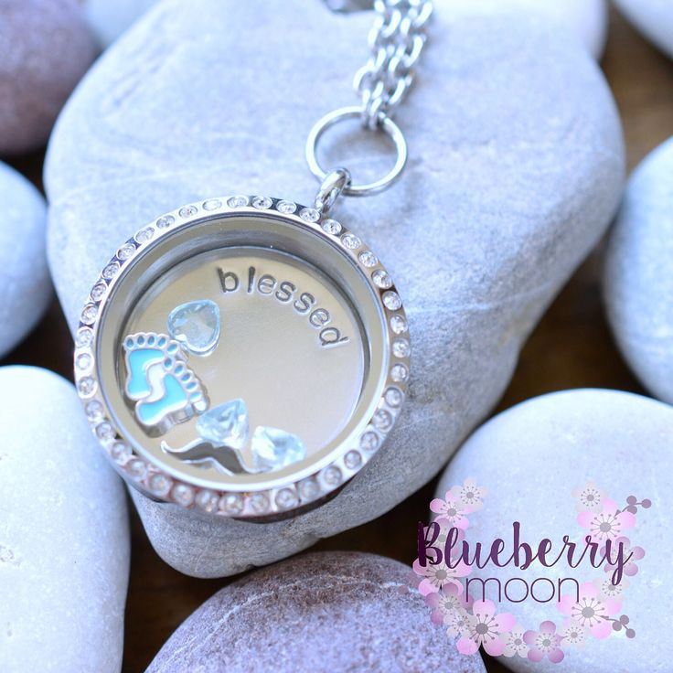 Baby boy locket....I am so in love with the tiny moustache charm!