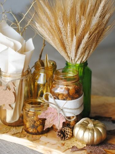 25 Easy And Elegant Thanksgiving Centerpieces Pinecone