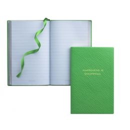 Smythson Happiness Is Shopping Notebook http://www.giftgenies.com/presents/happiness-is-shopping-notebook
