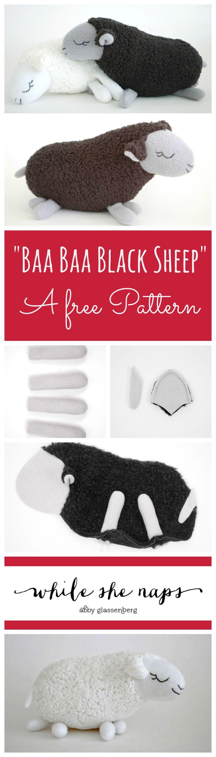 Free Pattern Baa Baa Black Sheep and