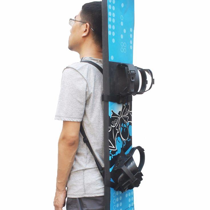 Snowboard Rugzak Schouderband Snowboard Rugzak Carry Riem Snowboard Carrier-Geen Board
