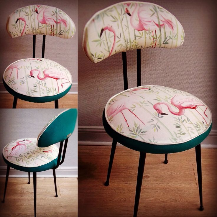 Chaise FLAMINGO.Nathalie Gagneux Créations.