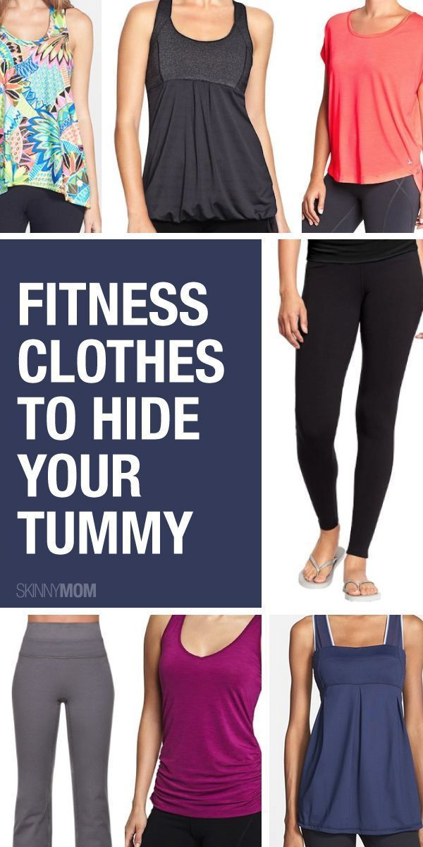 Clothes for women with big stomachs