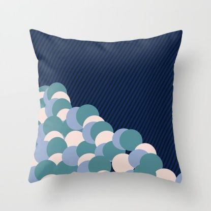 Onfetti Throw Pillow