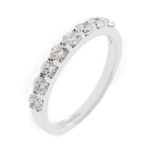 #Malakan #Jewelry - White Gold Diamond Wedding Band 60315BA #Band #WeddingBand #Bridal