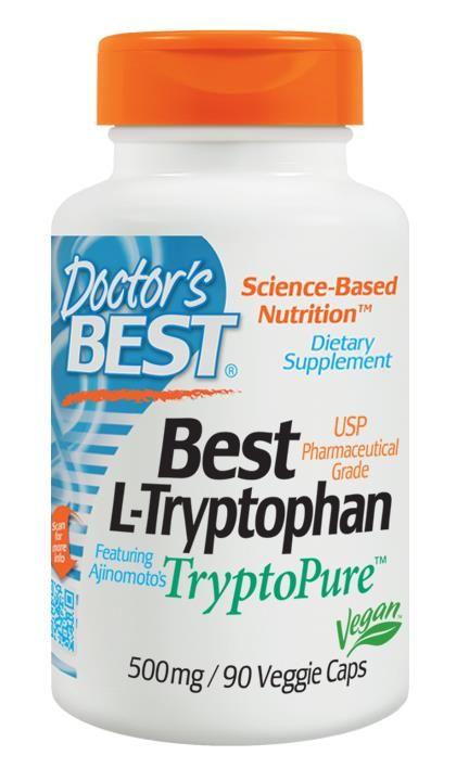 iHerb.com - Customer Reviews -Doctor's Best, Best L-Tryptophan, 500 mg, 90 Veggie Caps