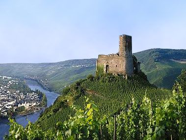 Bernkastel-Kues Germany. Some of the best wine on the mosel river