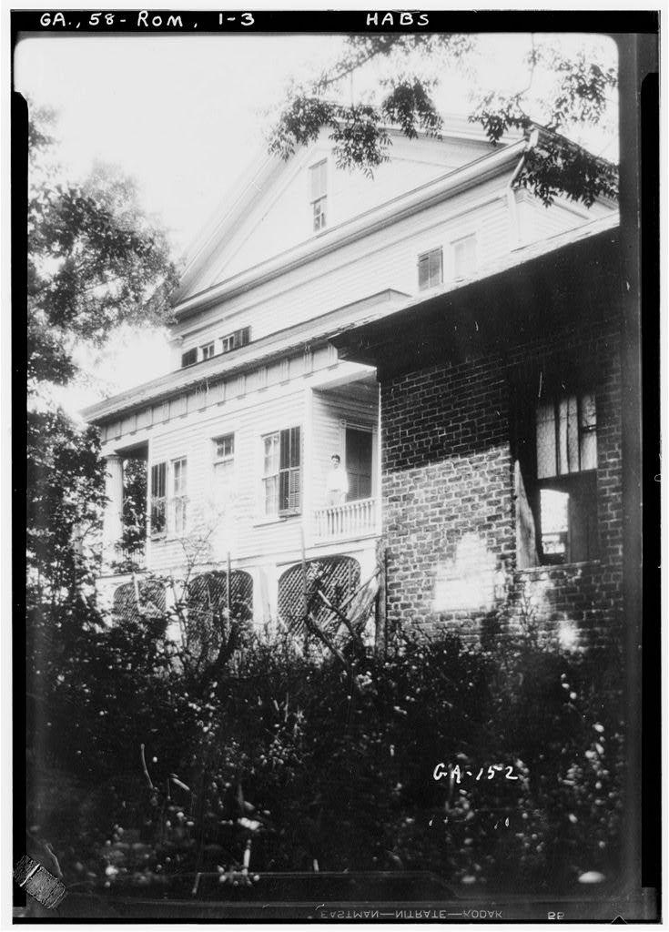"""Thornwood"", Shorter College Vicinity, Rome, Floyd County, GA"