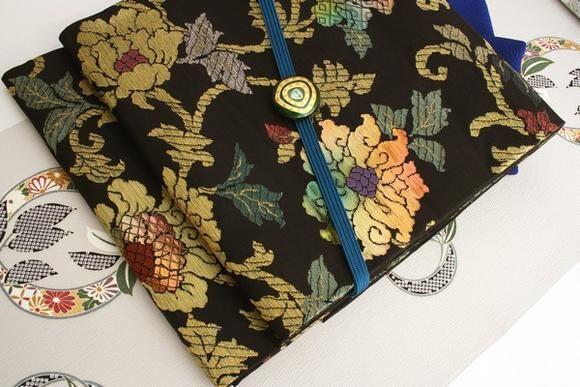 【楽天市場】【小田機業謹製】 特選正絹西陣袋帯 黒地 「インド更紗」:きもの 和<なごみ>