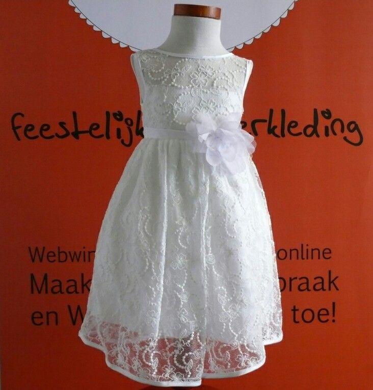 Wow mooi bruidsmeisjes jurkje