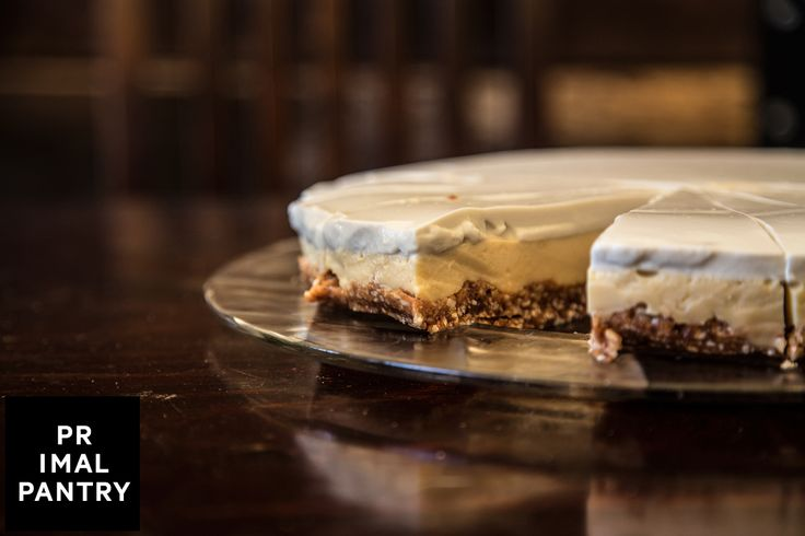 """One of the most popular desserts at Primal Pantry. The """"Lemon Curd Tart""""."""