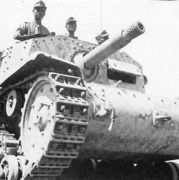 Italian semovente 75/18 North Africa WWII, pin by Paolo Marzioli