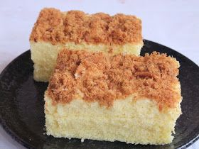Veronica's Kitchen: Steamed Meat Floss Cake