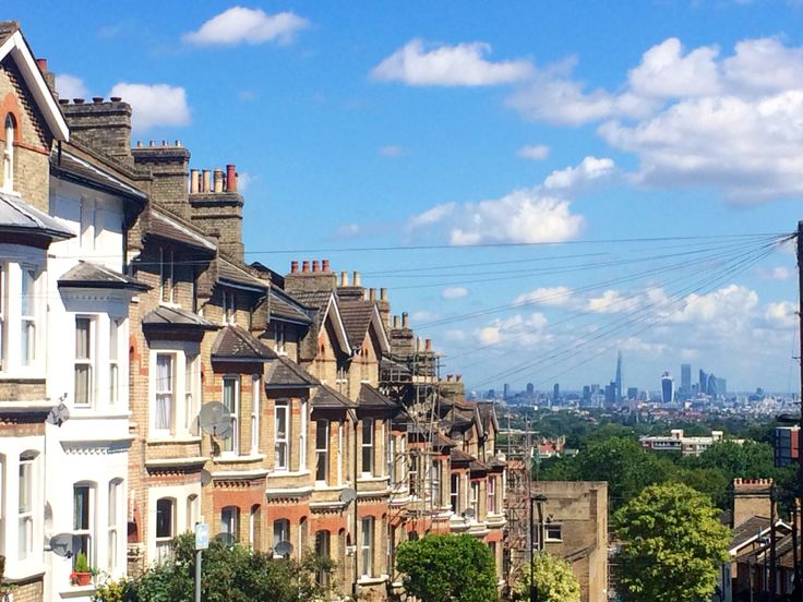 London from Woodland Road, Crystal Palace.