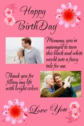 happy birthday letter for mother with birthday wishes from son fully customized products free customization layouts huge range of layouts