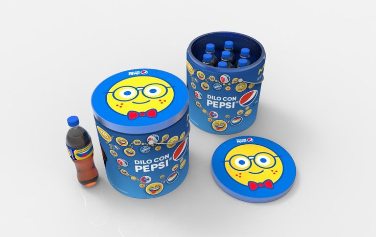 P.O.P DESIGNS FOR PEPSI EMOJI CAMPAIGN