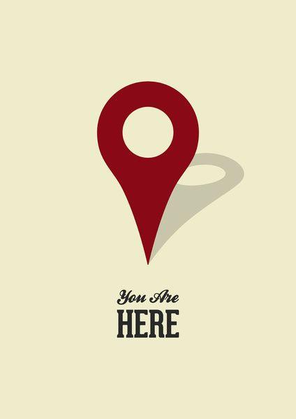 You Are Here Typografi Pinterest Design Och Inspiration