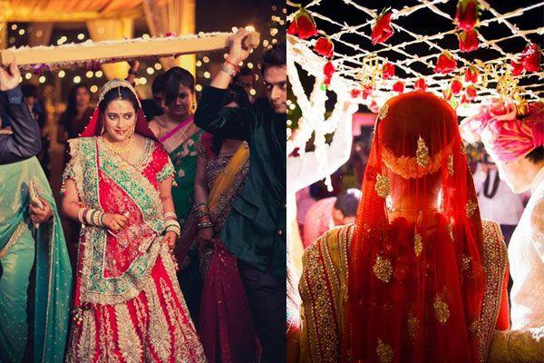6 Unique Ideas for the Entrance of an Indian Bride