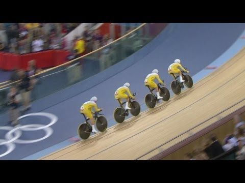 Team GB Set New Team Pursuit World Record - London 2012 Olympics - YouTube
