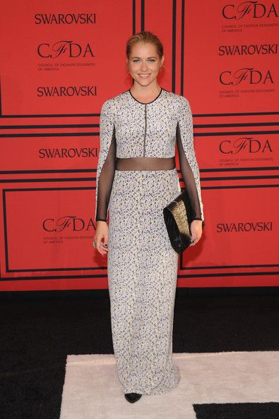 Teresa Palmer Wore Yigal Azrouel at the CFDA Fashion Awards
