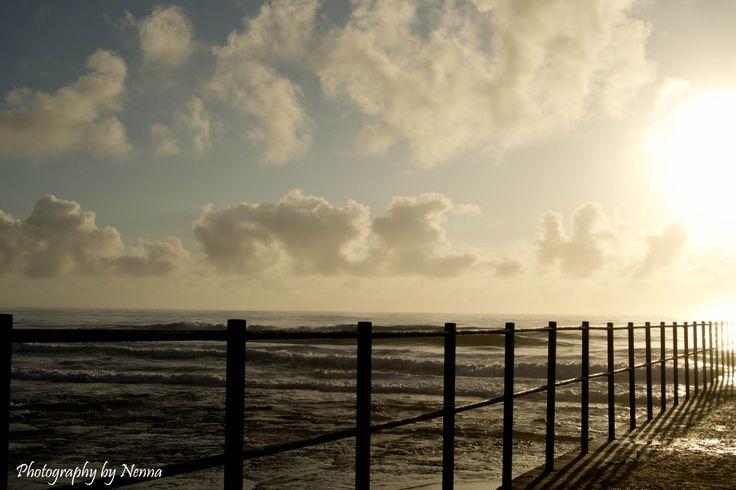 Last sunrise of 2013 at Brighton beach...