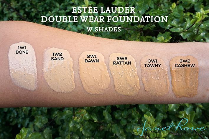 I've worn double wear for almost 4 years and I love it!!! Simply the best. Estee Lauder Double Wear Foundation Warm Swatches