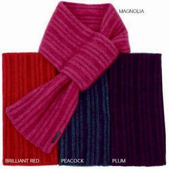 New Zealand Merinomink Merino Wool & Possum Simple Scarf