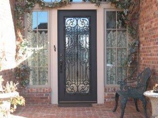 Wrought Iron Front Door