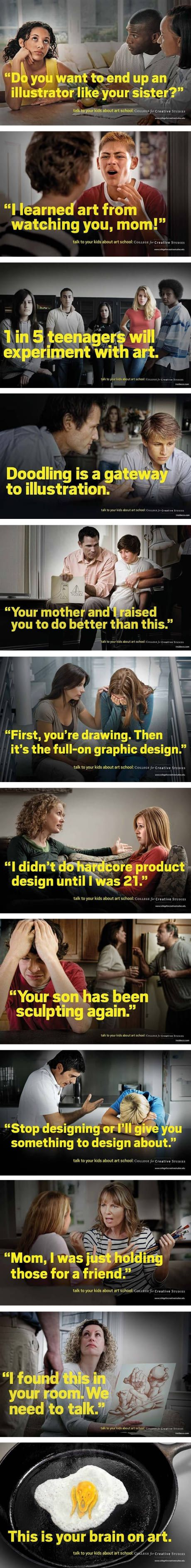 """""""First you're drawing then its the full-on graphic design"""" - you have been warned folks."""
