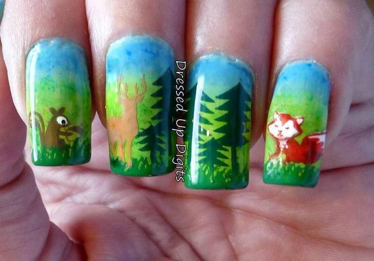 Mejores 457 imágenes de Nail Art - Cute Critters and Animals en ...