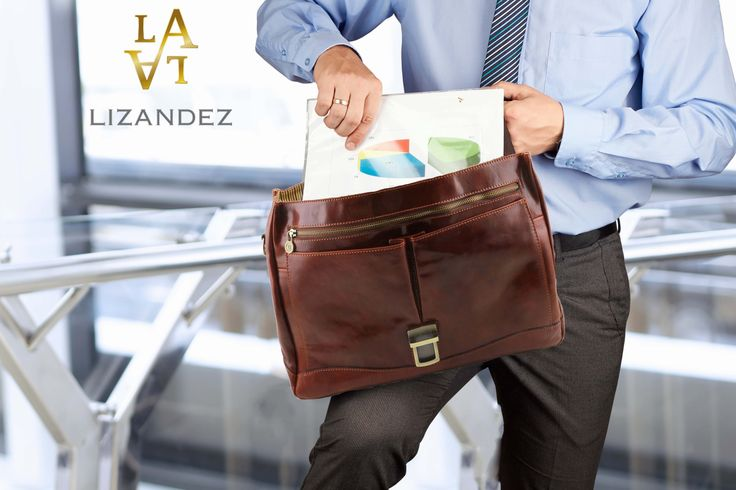 Mantova Leather Briefcase made in Premium Italian Leather is perfect for your business essentials