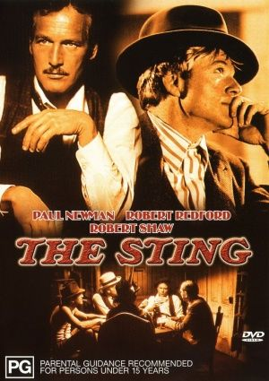 The Sting...after you watch it for the first time....you will want to watch it all over again...because everything just changed. LOVED THIS - Ads