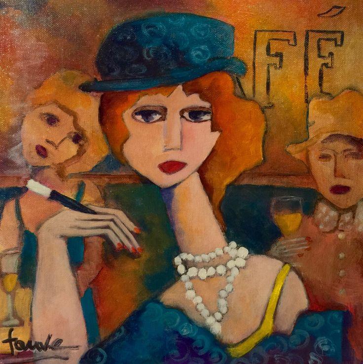 Martine Dechavanne - Fauve Artiste Peintre