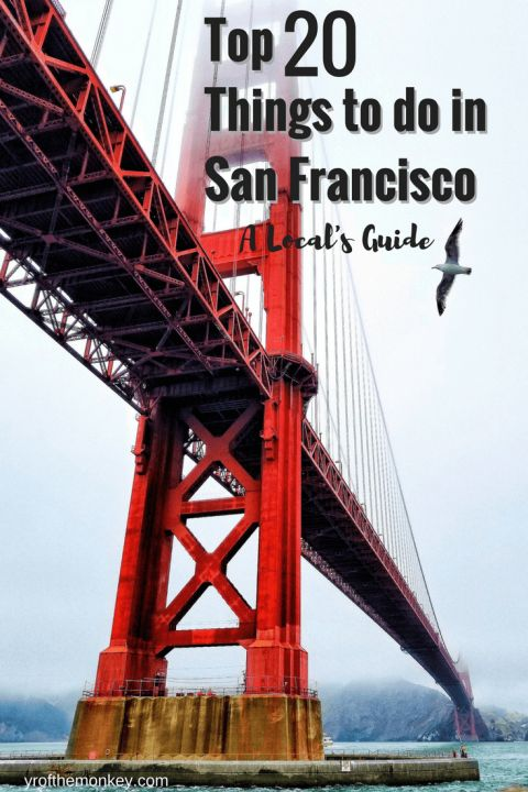 Top twenty Things to do in San Francisco, California, USA is the only and the ultimate San Francisco guide that you will EVER need to travel and explore fog city. As someone who has been living in San Francisco for over 7 years, this is the best compilation of top attractions such as golden gate bridge to Coit tower to Trolley cars to Alcatraz to secret beaches and murals that you cannot miss. Photo by Robert Trombetta on Unsplash.