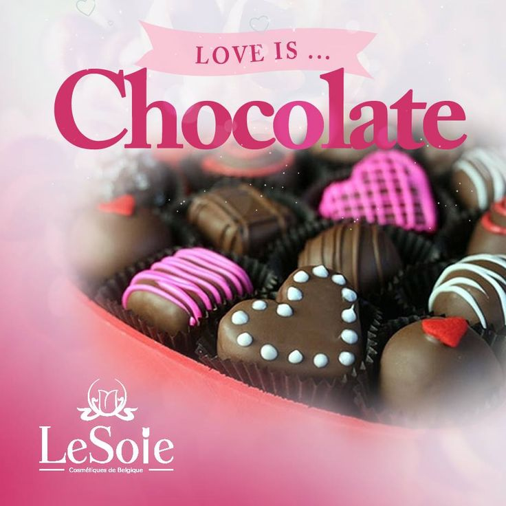 Love extends from persons to things as well, and tops this list is chocolate, do not you agree?