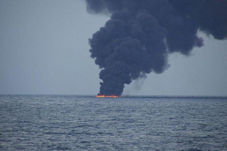Oil tanker wreaks havoc on East China Sea