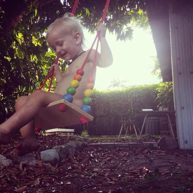 Wooden Tree Swing – Earth Toys