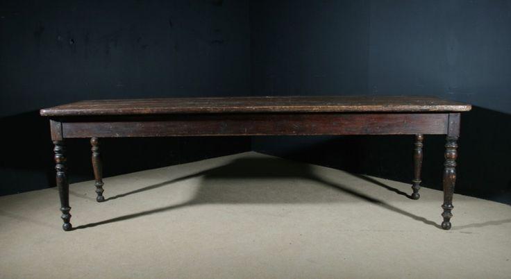 Very Large Pine Farmhouse Table