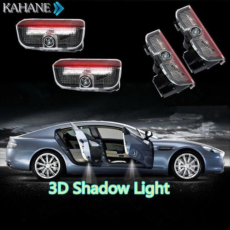 2 PCS LED Lampe de Courtoisie Bienvenue Logo Projecteur de Lumière D'ombre pour VW Passat B6 B7 CC Golf 6 7 Jetta MK5 MK6 Tiguan Scirocco