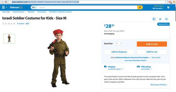 Polémique totale pour la marque de retail Walmart qui a proposé deux déguisements problématiques pour Halloween:    La marque s'est vue obligée de retirer les deux articles de la vente.  Enseignements:  Que dire?