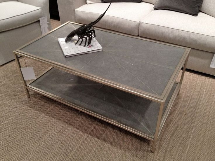 Lovely Pearson Shagreen Coffee Table