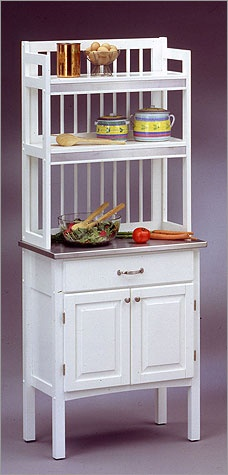 bakers rack and microwaves on pinterest. Black Bedroom Furniture Sets. Home Design Ideas