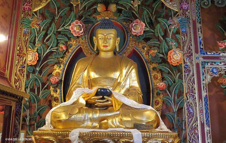 santuario di Hariri a Bodhnath, interno (Nepal)